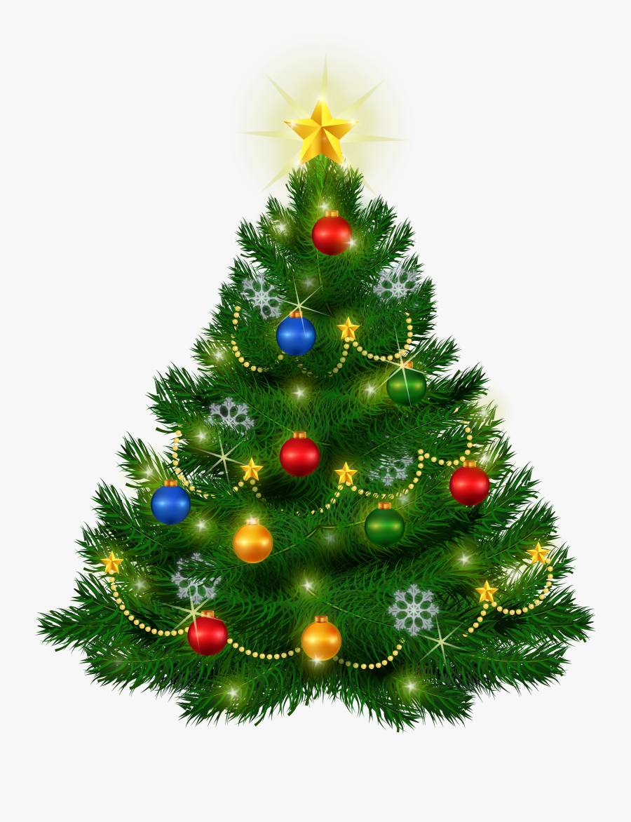 Beautiful Christmas Tree Png Clipart.
