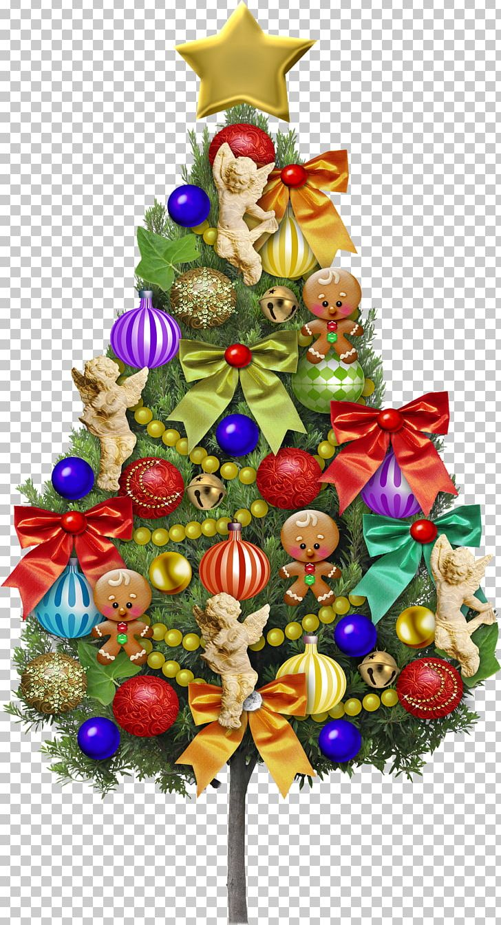 Creative Christmas Tree Beautiful Color PNG, Clipart.