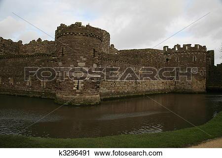 Stock Photography of Beaumaris castle. k3296491.