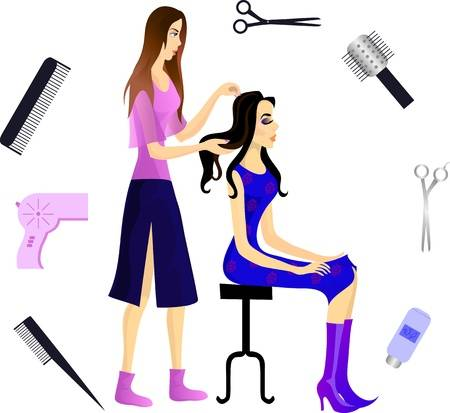Beautician clipart 5 » Clipart Station.