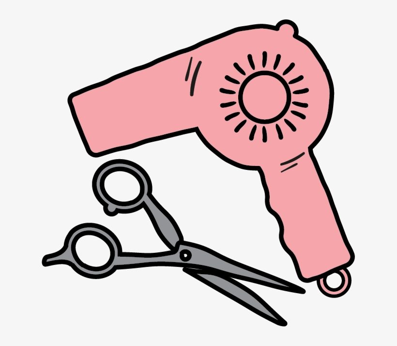 Hairdresser Icon.