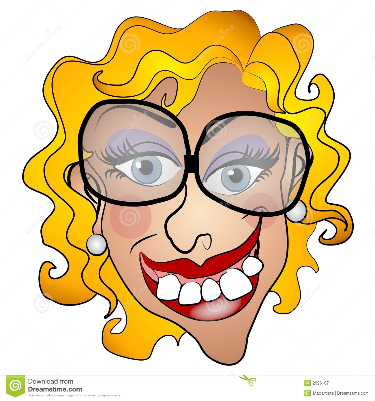 Ugly Girl Clipart.