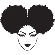 Library of black women afro puff chef svg png files.