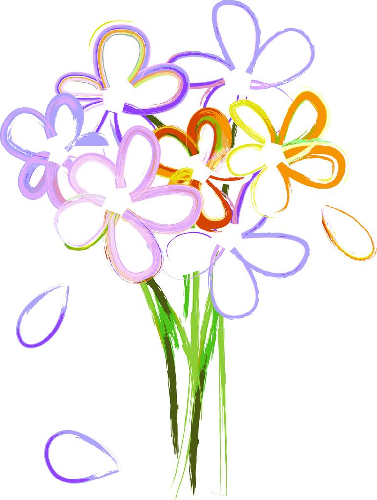 Bouquet Of Flowers Clip Art Free 20325 bouquet of flowers.