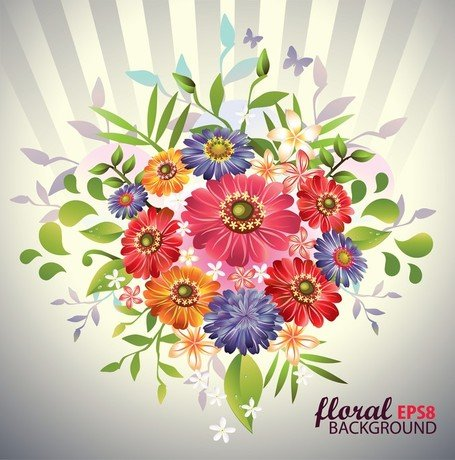 Free Beautiful Bouquet 05s Clipart and Vector Graphics.