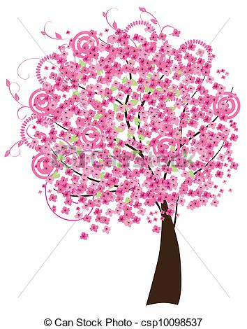 Beautiful Cherry Blossom Clipart Clipground