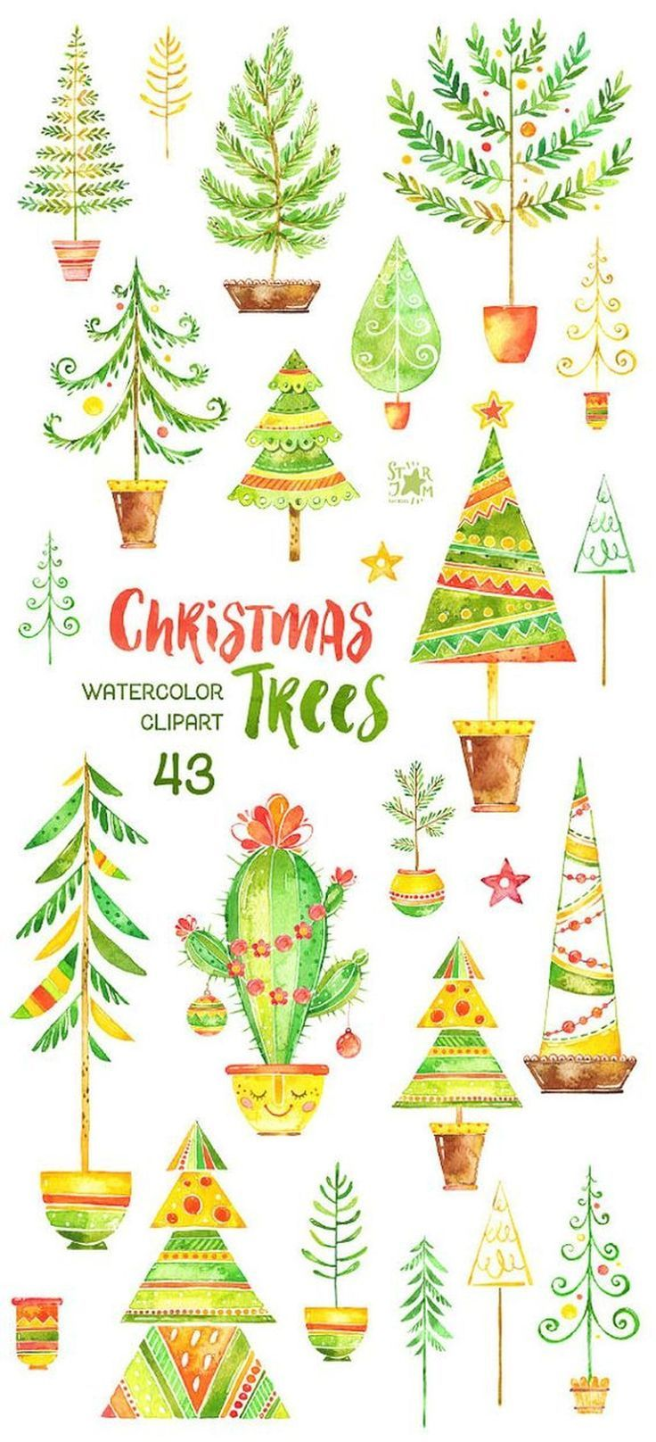 18 Printable Cute and Beautiful Christmas Sticker.