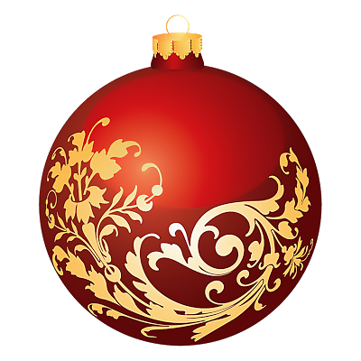 Merry Christmas Ball Clip Art for Cards Beautiful Christmas Ball in.