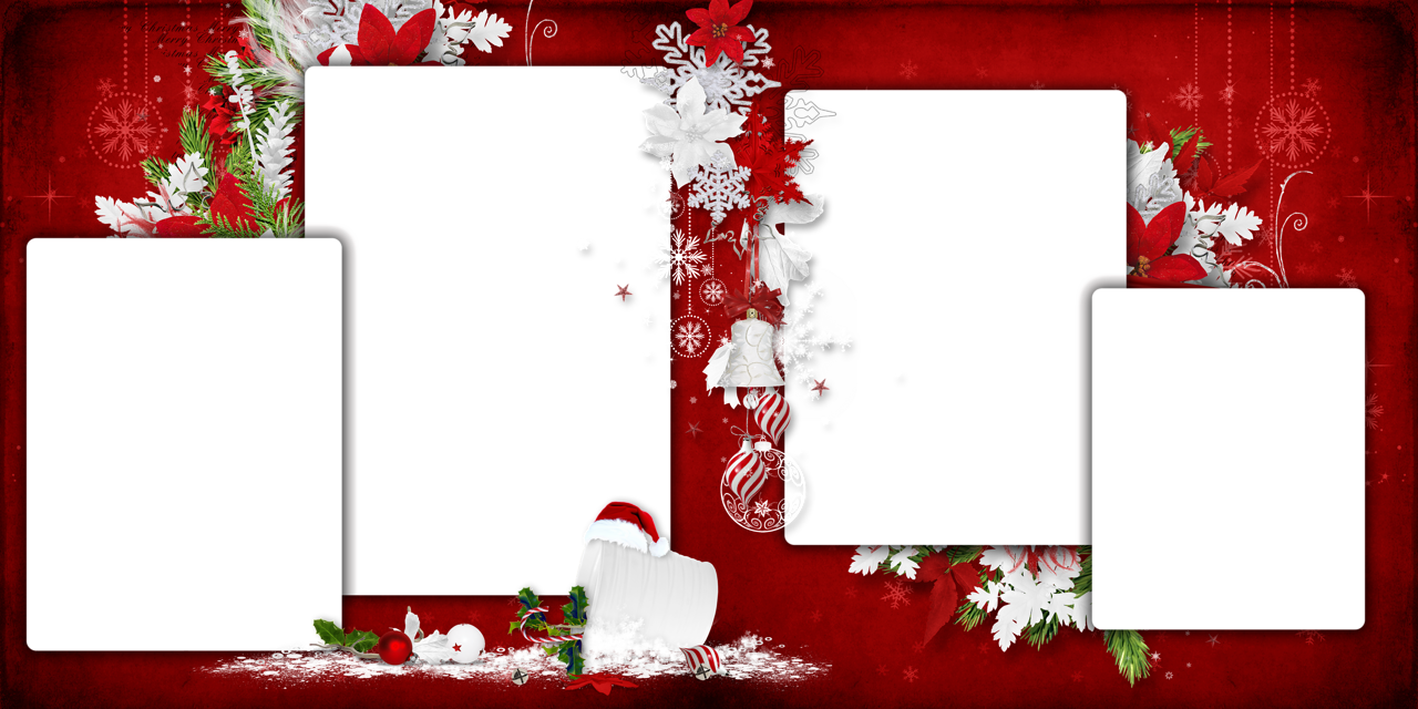 Merry Christmas Picture Frame Photoshop Frames Png For.