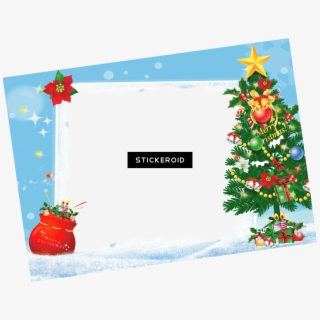 PNG Christmas Picture Frame Cliparts & Cartoons Free.