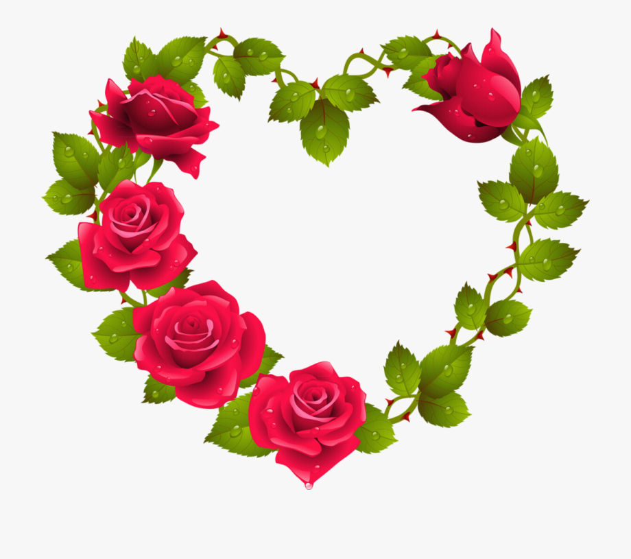 Png Red Roses Clip Art And.