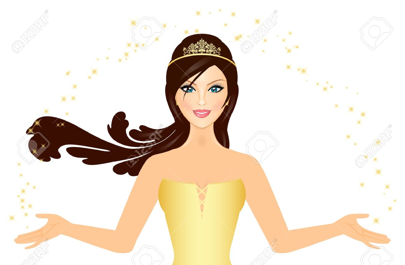 Beauty Queen Clipart Images.