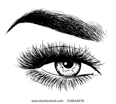 Beautiful eye clipart black and white 3 » Clipart Portal.