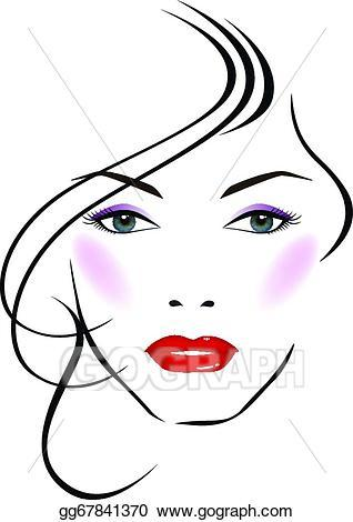 Beautiful face clipart 4 » Clipart Portal.