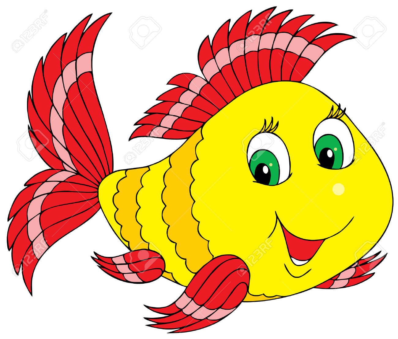 Beauty Of Fish Free Clipart Clip art of Fish Clipart #383.