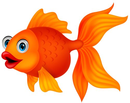 Beautiful fish clipart underwater.