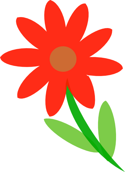Pretty Flower Clipart.
