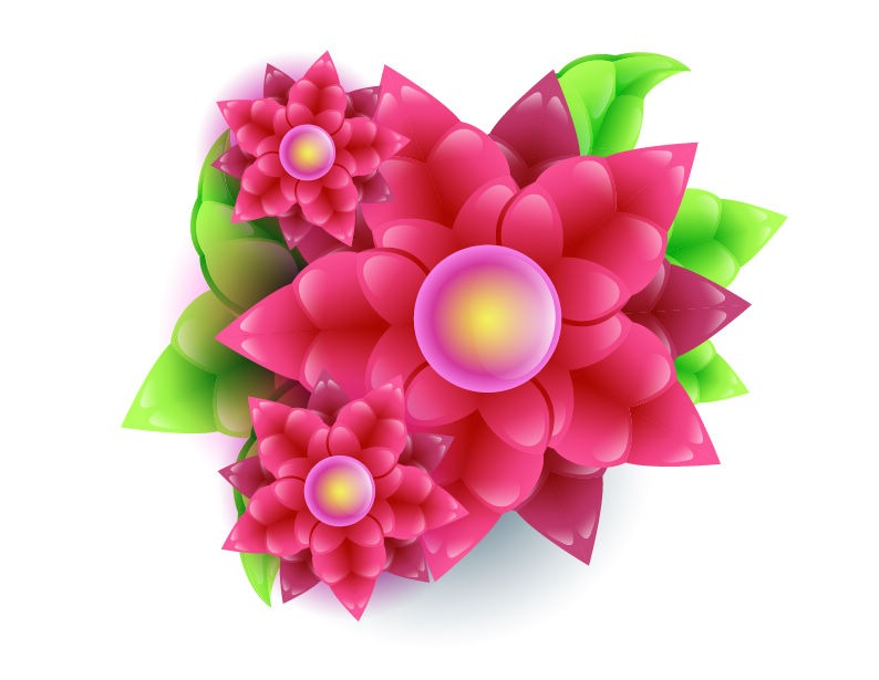 Nice flowers clipart.
