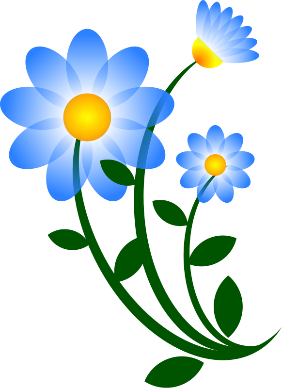 Beauty Flower Clipart Graphics Clip art of Flower Clipart #261.