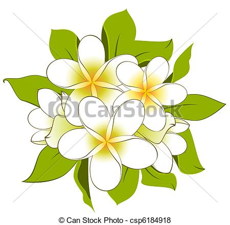 Vector of Background with beautiful flowers.