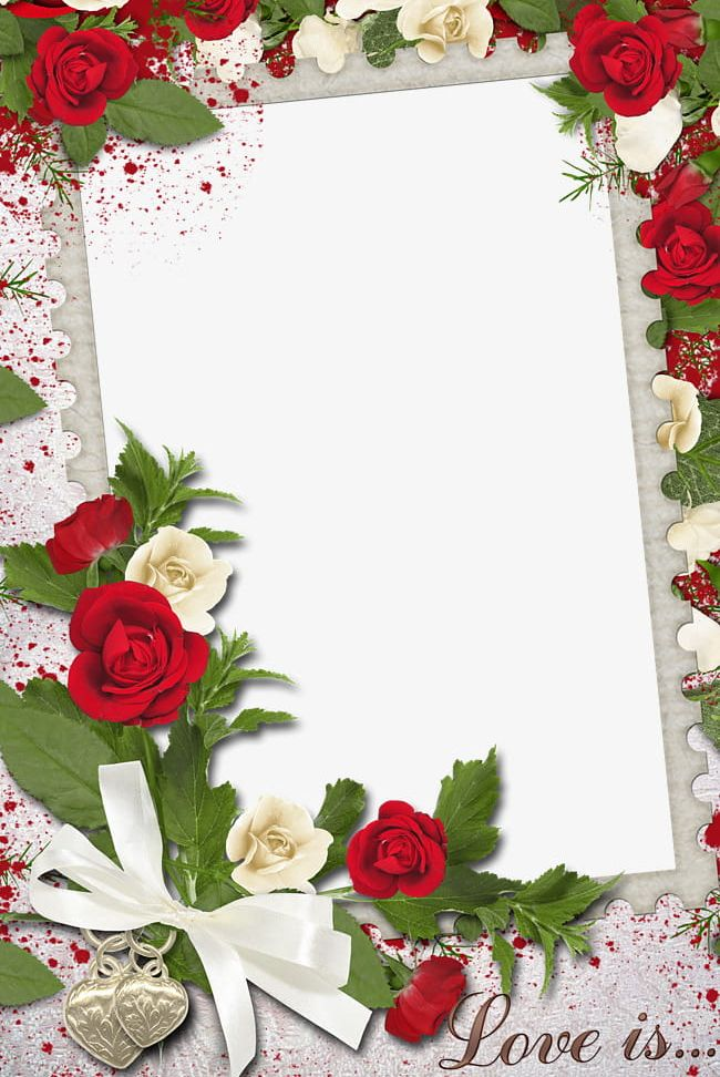 Beautiful Flowers Border Frame PNG, Clipart, Beautiful Clipart.