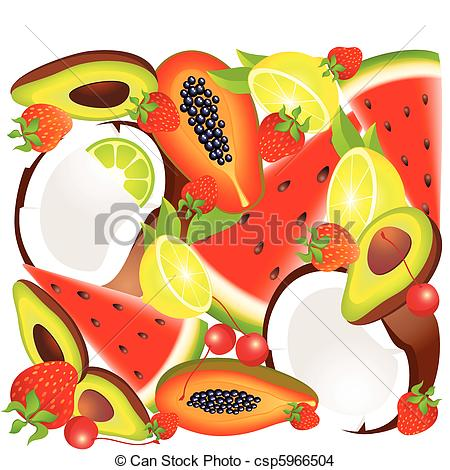 Exotic fruit Clipart Vector Graphics. 5,864 Exotic fruit EPS clip.