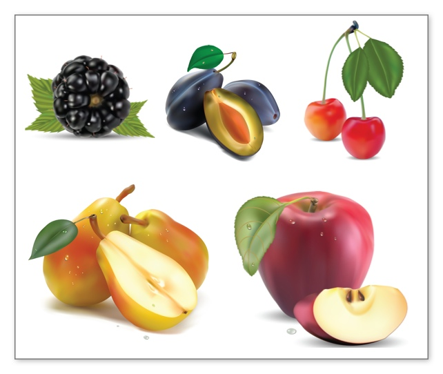 Fruit And Cheese Clipart.