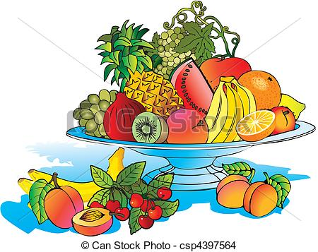 EPS Vector of Fruits..