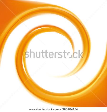 Orange Whirl Stock Photos, Royalty.
