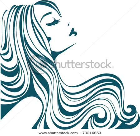 Clip Art Beautiful Woman Clipart.