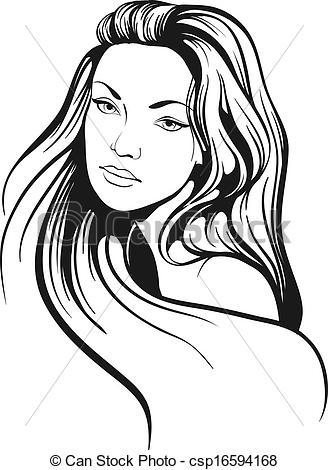Long hair Illustrations and Clip Art. 16,614 Long hair royalty.