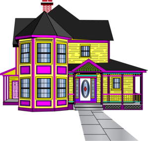 Beautiful house clipart hd.