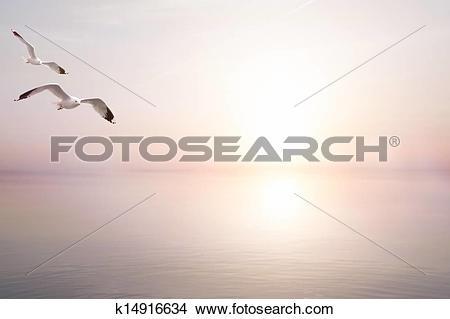 Stock Photo of art abstract beautiful light sea summer background.