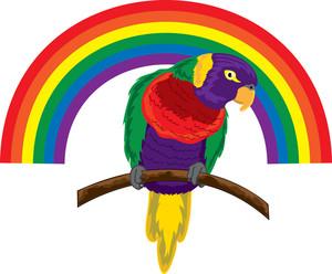 Parrot Clipart Image.