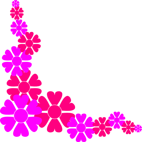 Floral Border Clipart.
