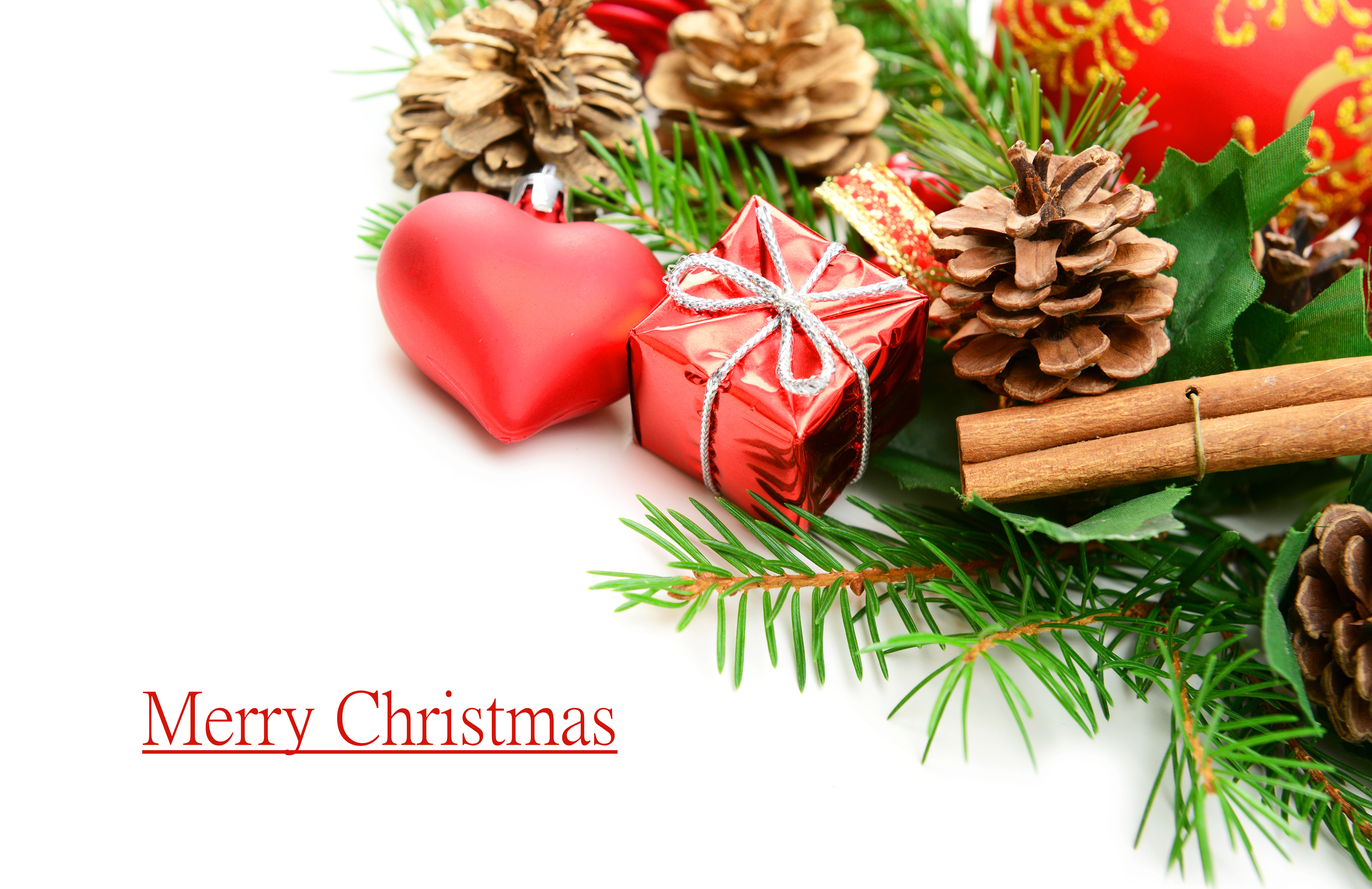 Beautiful Merry Christmas Background.