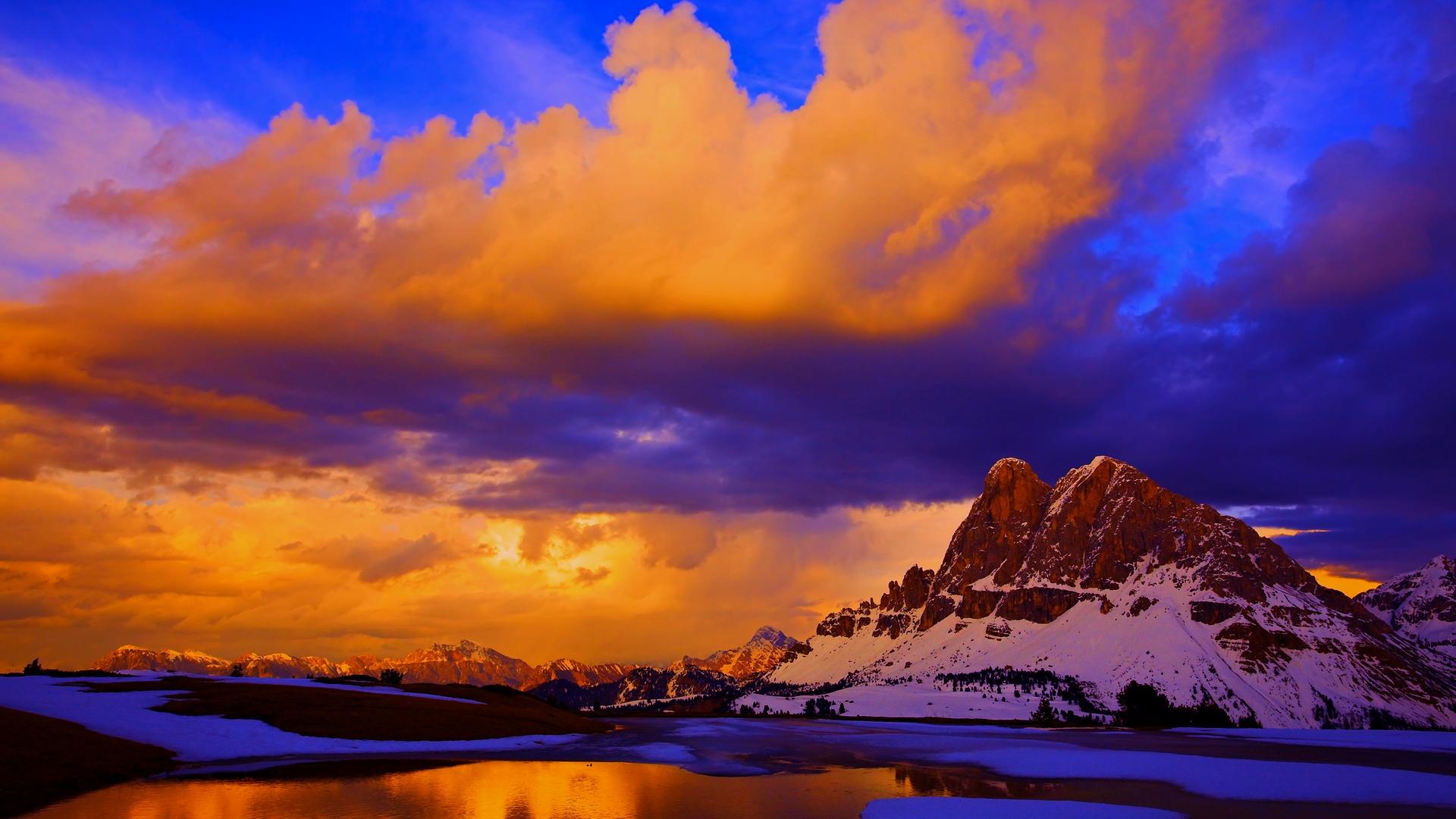 Beautiful mountains clipart desktop.