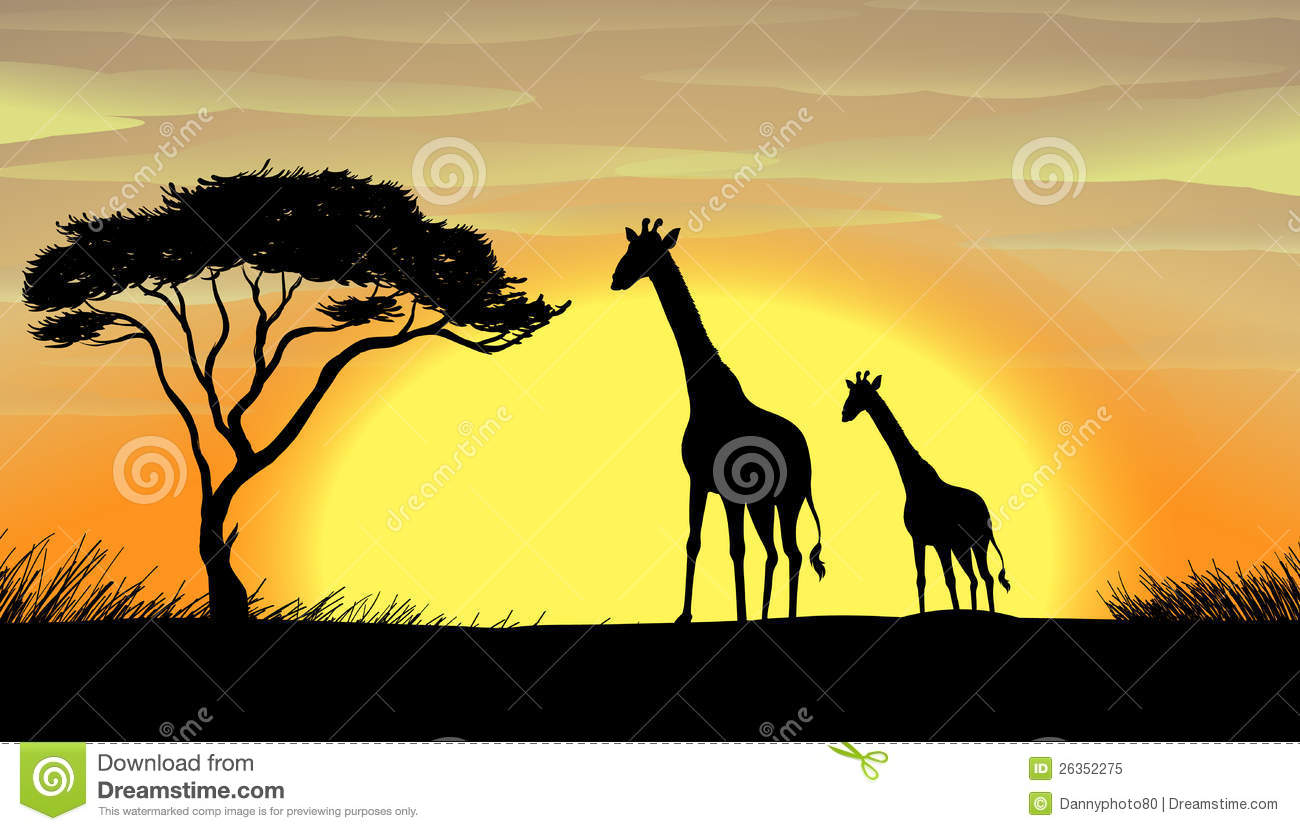 Beautiful Nature Clipart Royalty Free Stock Photography.