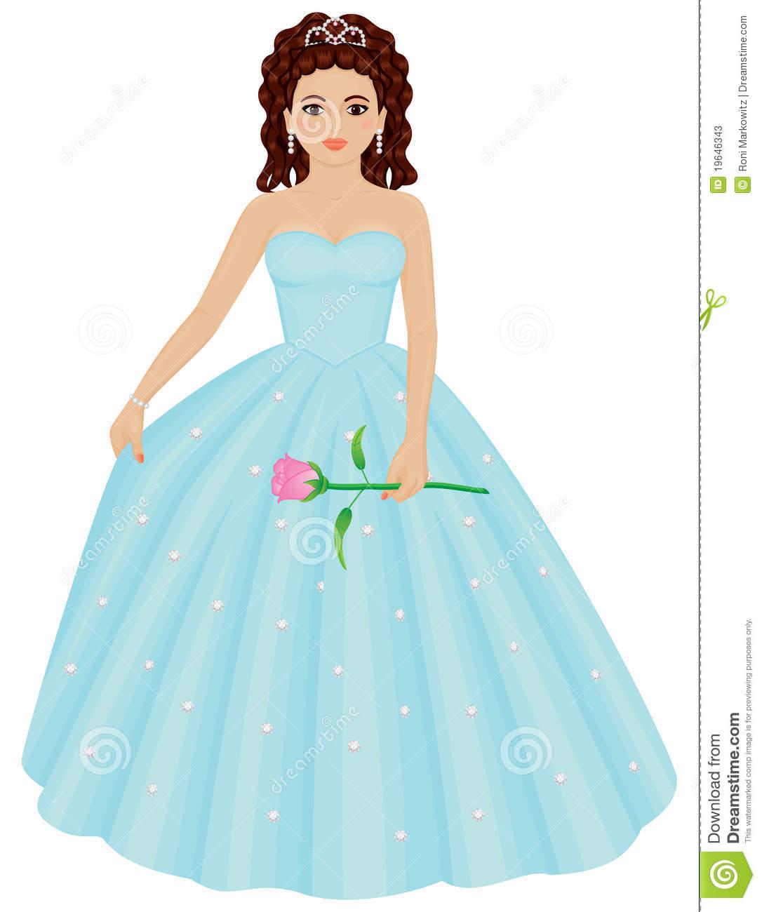 Beauty Queen Clipart.