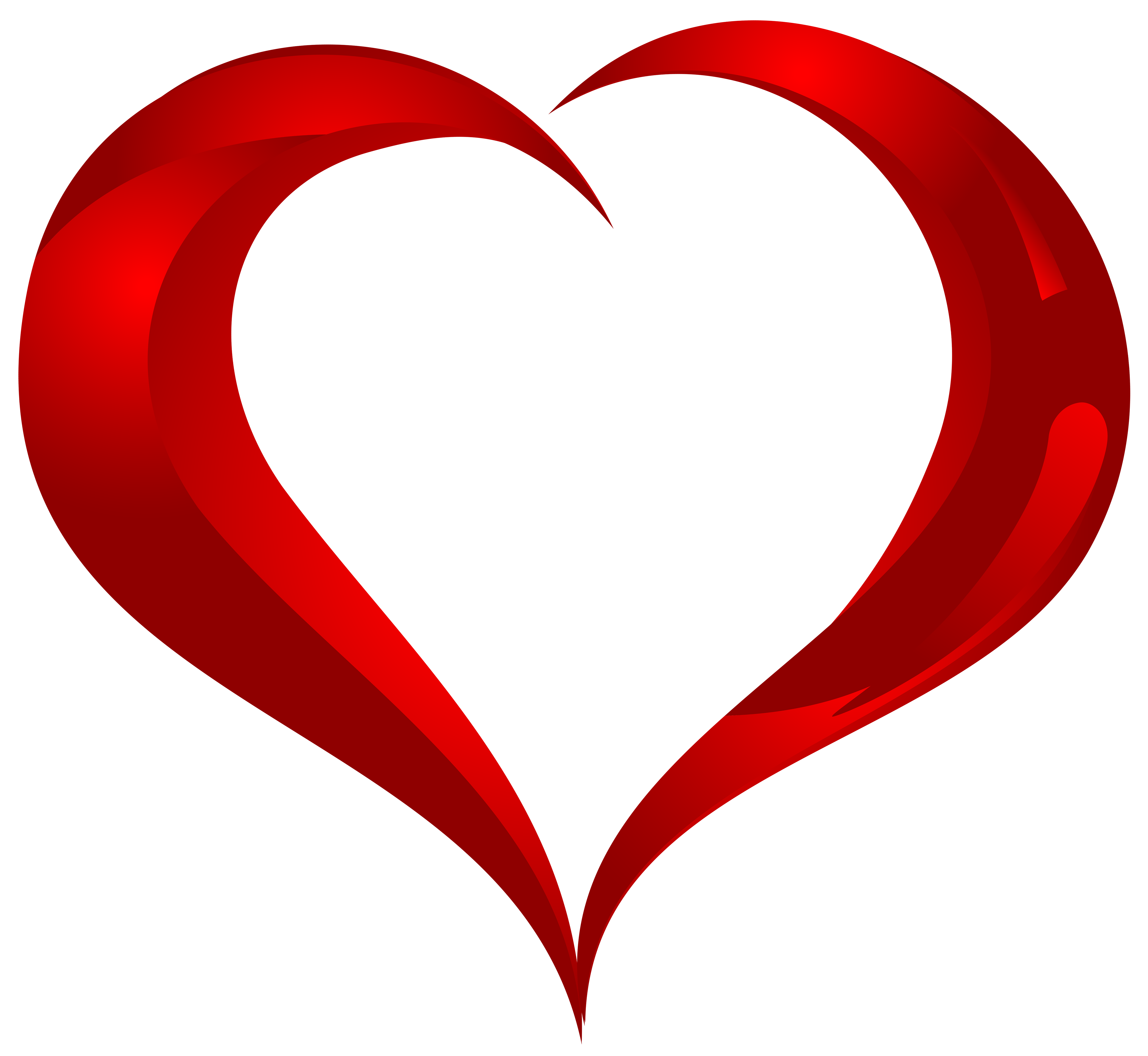 Beautiful Heart PNG Clipart.