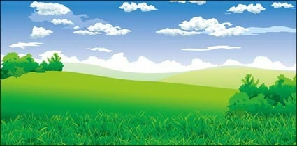 Scenery clip art images.