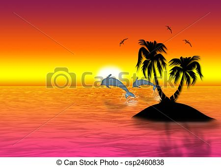 Beautiful sea pictures clipart.