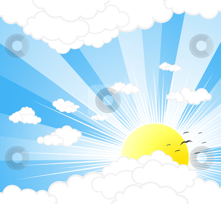Sky Background Clipart.