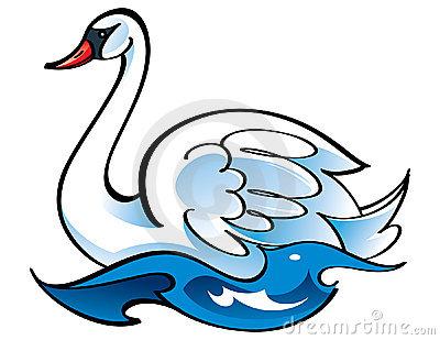 Swan Clip Art Free.