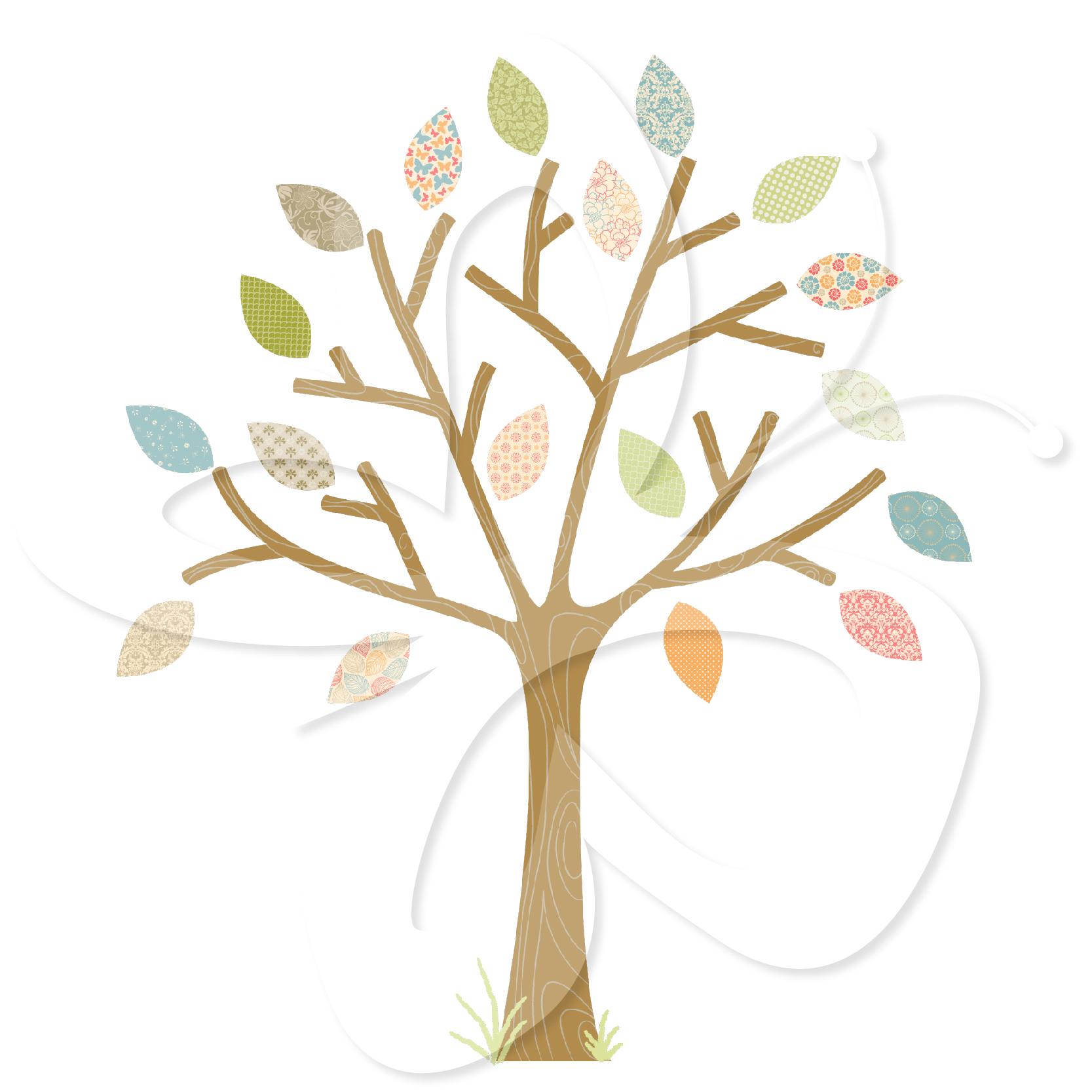 Pretty Tree Clipart.