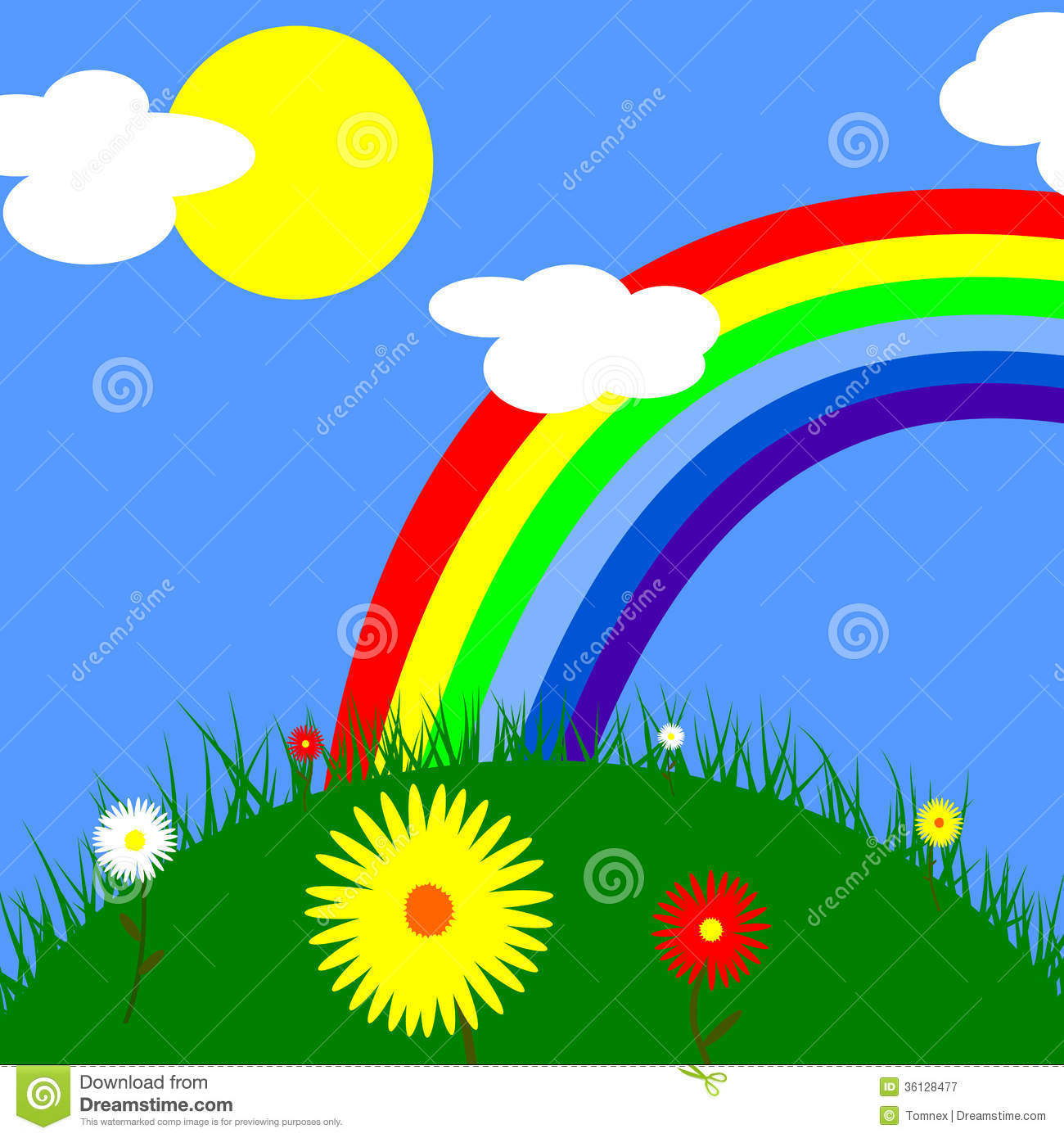Beautiful weather clipart.