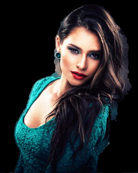Beautiful Young Woman (PNG).