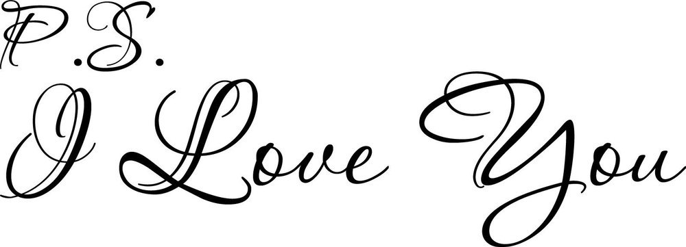 Lots Of Love Words Clipart The Word In Cursive