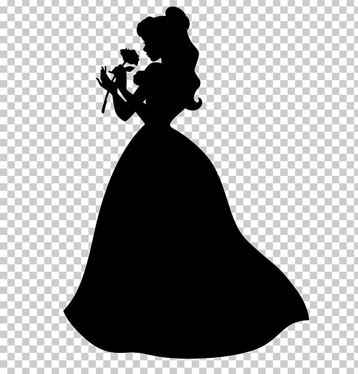 Belle Silhouette Photography Dress Beast PNG, Clipart, Animals.