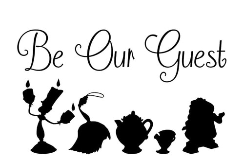 Beauty And The Beast Clipart Black And White (101+ images in.